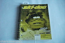 2000 Bombardier Ski Doo Grand Touring / Formula / Mach 2 Shop Manual OEM