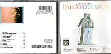 LUCIO DALLA CD stampa TEDESCA 1986 Dallamericaruso MADE in GERMANY 1A EDIZIONE
