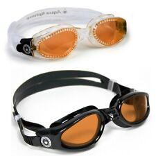 KAIMAN AMBER Lens Aqua Sphere Swim Goggle Pool Mask Triathlon Training CHOOSE