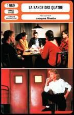 LA BANDE DES QUATRE - Ogier,Rivette (Fiche Cinéma) 1989 - Gang of Four