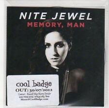 (DL704) Nite Jewel, Memory Man - 2012 DJ CD