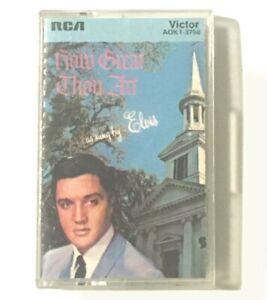 Cassette Elvis Presley How Great Thou Art 1967 RCA S60