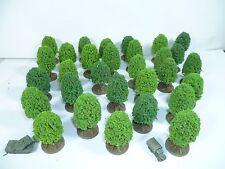 30 piccoli alberi modello per 6 mm, 1/285th, 1/300th SCALA Wargames
