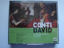 2539 Conti - David, Alan Curtis, Il Complesso Barocco *EX-LIBRARY* 2 CD box set