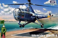 Helicopter Sikorsky H03S-1 (Plastic model kit)  1/48 AMP 48001