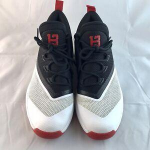👟Adidas Crazylight Boost 2.5 Low 'Core Black Scarlet' Shoes B42728 Mens sz 12👟