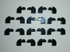 LEGO STAR WARS  20 Bogensteine / Rundsteine 6091 in schwarz 1x1x1 1/3 Noppen NEU
