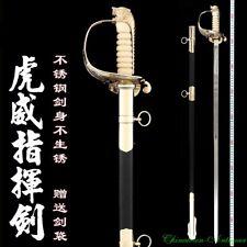 Tiger Head Honor Guard Ceremonial Celebration Officer's Sword Steel Blade #2181