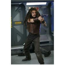 Stargate Atlantis Jason Momoa as Ronon Dex Aiming Gun on Ship 8 x 10 Inch Photo