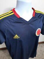 T2 Adidas Mens Climacool Federacion Colombiana De Futbol Soccer Jersey Medium