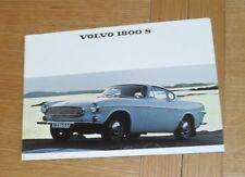 Volvo 1800 S Brochure 1966 - B18 B Engine