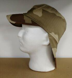 French Army Desert Camo Field Cap Lightweight Warm Weather Unissued Daguet Hat