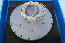 GT&E AL-Plate 340mm 18T 7Zone, 1pcs, Used, Free Expedited Ship