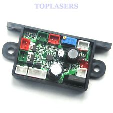 532nm 10mw-500mW +650nm 200mW Laser Diode Power Supply Driver Circuit Board 12V