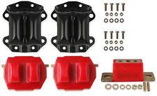 Hooker 1998-2002 Camaro Firebird LS1 Polyurethane Motor Trans Mount Kit Red Poly