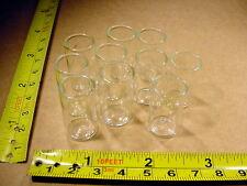 10 x Flachbodenglas Durchmesser 15 x Höhe 26 mm Reagenzglas R17