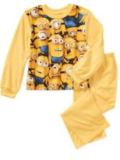Despicable Me 2 2-Piece Flannel Sleepwear Set Size 4-5 NWT
