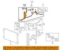 GM OEM A/C Condenser, Compressor Line-AC Tube Hose 22875372