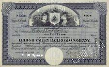 Lehigh Valley Railroad Company, Pennsylvania, 1926 (30 Shares) alte Version