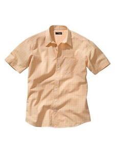 heine  Hemd  orange  -  Größe 41/42