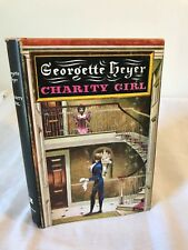 Vintage Georgette Heyer 'Charity Girl' Classic Romance Novel, Dust Jacket, 1970