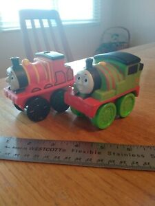 Mattel Gullane Thomas The Train Percy & James Lot 2010