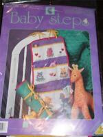 DESIGNS FOR THE NEEDLE Counted Cross Stitch Kit - BABY STEPS TRAVEL ORGANIZER
