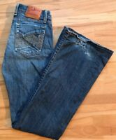 LUCKY Brand Lil Maggie Boot Cut Swirle Stretch Jeans Womens Tag 2/26 Reg 28x31