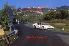 Bjorn Waldegard FERRARI 308 GTB Rally San Remo 1983 fotografia 1