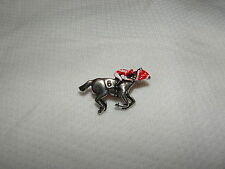 SEABISCUIT HORSE of YEAR 1938 RACING JOCKEY PIN HOLLYWOOD GOLD CUP