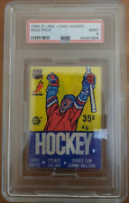 1985 OPC Vintage Wax Pack PSA 9 MINT Mario Lemieux Rookie Year