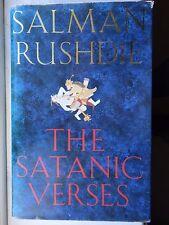 SALMAN RUSHDIE SATANIC VERSES HB Book 1st Edition Viking 1988