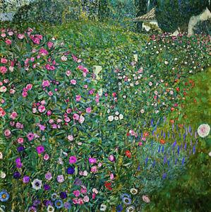 Gustav Klimt Full Drill Diamond Painting Kit Italian Garden Landscape 1913
