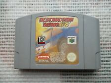 Jeu Nintendo 64 / N64 Destruction derby 64 PAL retrogaming original*