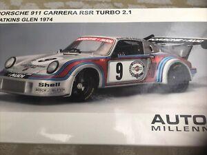 1/18 AUTOart  Porsche 911 Careers RSR Turbo 2.1 Watkins Glen 1974.87475
