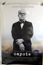 """Capote - 27""""x40"""" 2 Sided ORIGINAL Movie Poster - Phillip Seymour Hoffman"""
