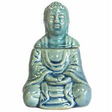 Ancient Wisdom Sitting Buddha Oil Burner/Blue