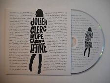 JULIEN CLERC : LA JUPE EN LAINE ▓ CD SINGLE PORT GRATUIT ▓