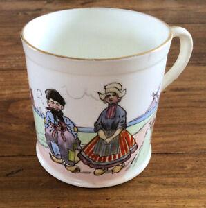 Wileman Foley China (Shelley) Children's Nursery Mug Little Dutchman