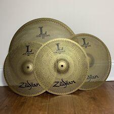Zildjian L80 Low Volume Lv348 Cymbal Set 18�, 14�, 13� X 2