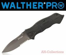 WALTHER PRO Black Tac Knife BTK Messer Taschenmesser Glasbrecher pocket knife