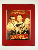 alter Kino Film Druck hinter Passepartouts Mein Onkel, der Gangster 50x40 cm 408