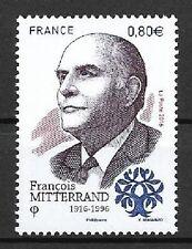 Frankreich Mi.Nr. 6598** (2016) postfrisch/100. Geb. von François Mitterrand