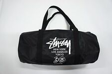 Stussy 30 Anniversary Black Travel Gym Sport Duffle Shoulder Bag Smart Magazine