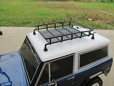Metal Roof Rack 1/10 RC Tamiya CC01 Axial SCX10 Jeep Wrangler YJ Off Road CR-01