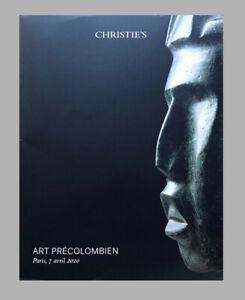 Art précolombien. CHRISTIE'S Paris avril 2020