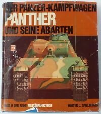 DER PANZER KAMPFWAGEN by WALTER J SPIELBERGER.  UK DISPATCH.