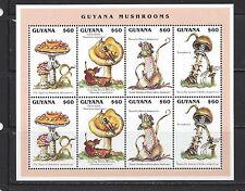 GUYANA - 3062 - S/S OF 8 - MNH - 1996 - MUSHROOMS