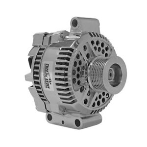 Tuff Stuff Alternator 7768DP; 3G 200 Amp Polished OE-Wire w/ 8-Groove Pulley
