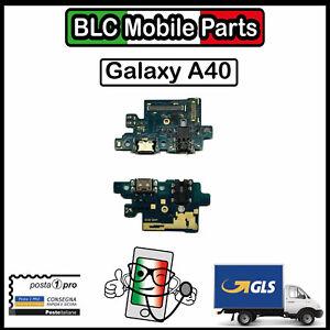 CONNETTORE DI RICARICA SAMSUNG GALAXY A40 SM-A405FN DOCK MICROFONO FLEX CARICA